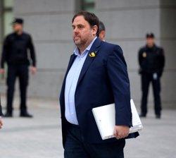 Junqueras i Romeva demanen empara al TC contra la seva suspensió com a diputats (Europa Press - Archivo)