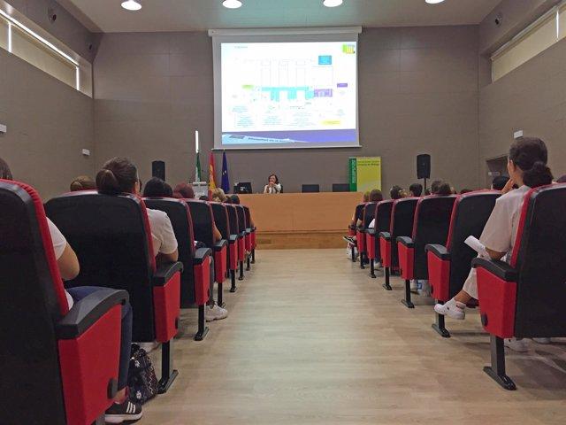 Bienvenida a estudiantes en Serranía de Ronda