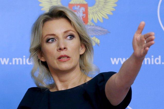 Portavoz del Ministerio ruso de Exteriores, Maria Zajarova