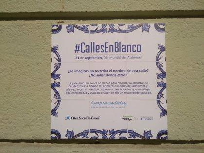 Cien calles del barrio de Ópera (Madrid) se quedan sin nombre para recordar los primeros síntomas del Alzhéimer