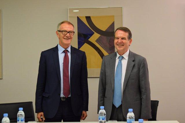 Abel Caballero se reune con el ministro de Cultura en Madrid