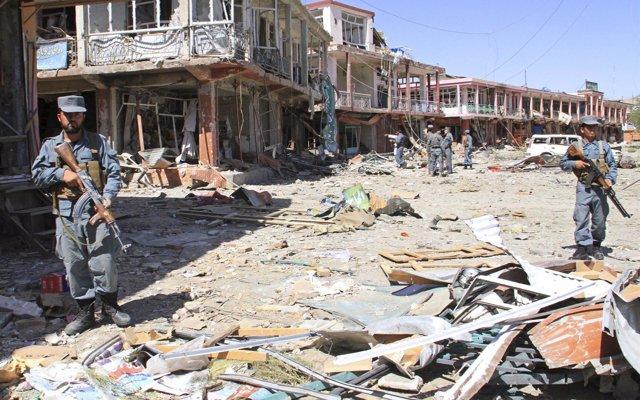 Mueren trece civiles en una operación de las fuerzas especiales de Afganistán en el este del país