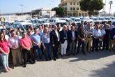 Foto: Jiménez Barrios preside la entrega de 34 vehículos a municipios menores de 20.000 habitantes de Málaga