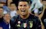 Cristiano Ronaldo ve la tarjeta roja en su debut en 'Champions' con la Juventus