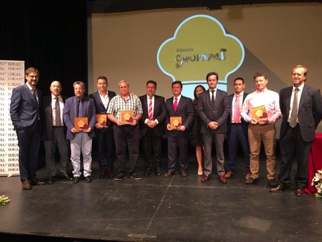 Entrega de los Premios Almería Gourmet 2018