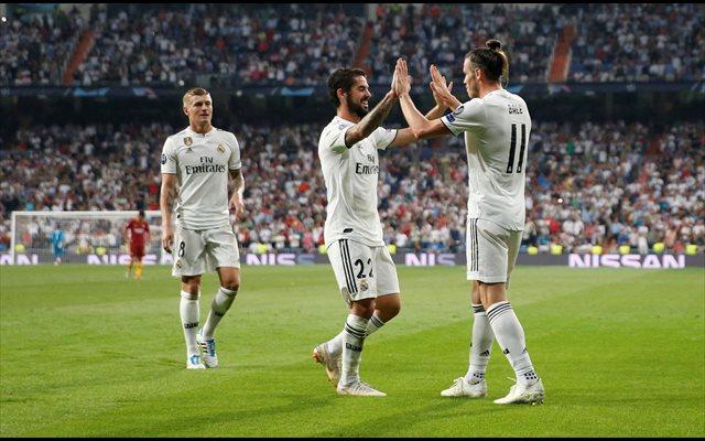 El Real Madrid inicia la reconquista en 'modo campeón'