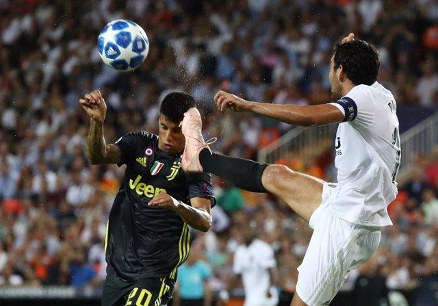 Juventus y Valencia se miden en Mestalla