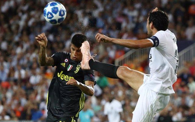 'Pena máxima' en Valencia en la derrota ante la Juventus