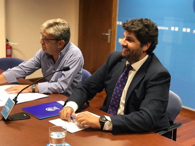 López Miras, en la reunión del comité Ejecutivo regional