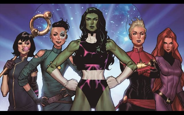 El guionista de Wonder Woman prepara una serie sobre las superheroínas de Marvel para ABC