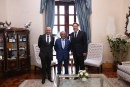 Globalia se reúne con el presidente de Panamá
