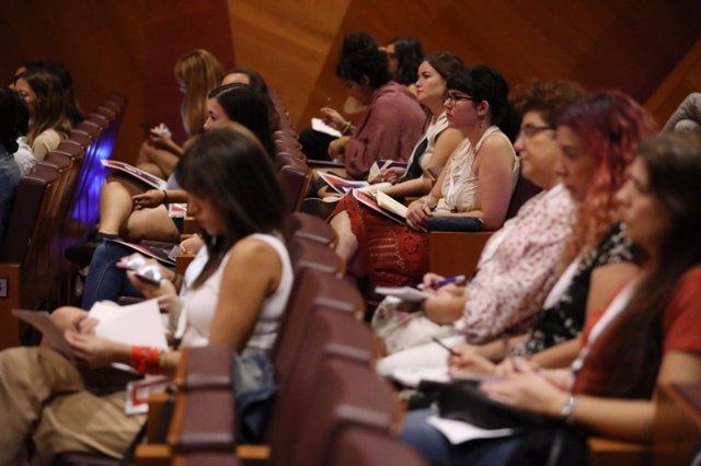 Encuentro de feminismo y medios de comunicación