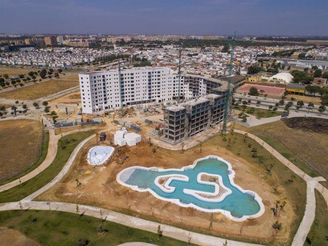 Promoción de viviendas Hacienda Jardines Rosario