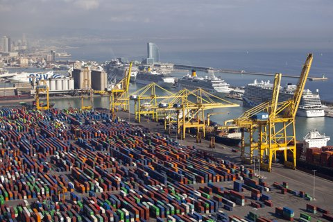 Port de Barcelona (arxiu)