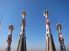 La Sagrada Família aixecarà l'última torre i pot estar acabada el 2026 (EUROPA PRESS)