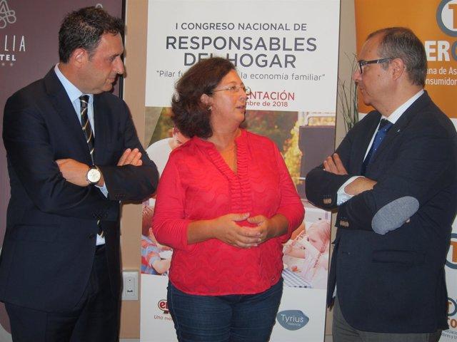 Presentación Congreso con Juana Pérez y Cerón de ElPozo