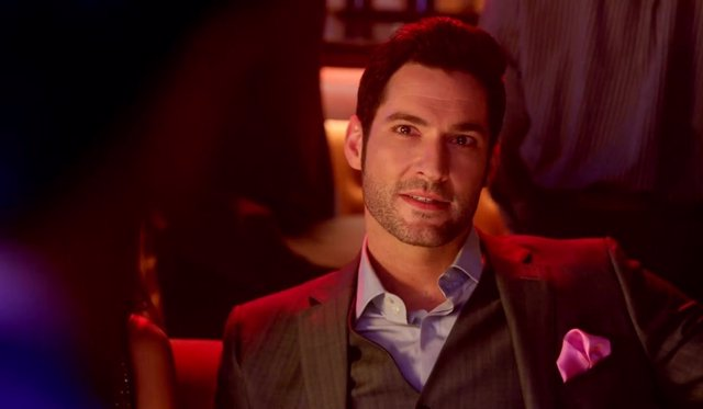 Tom Ellis en Lucifer