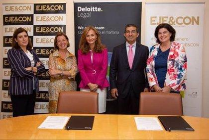 EJE&CON y Deloitte Legal acuerdan para fomentar y promocionar el talento sin género en los Consejos de Administración