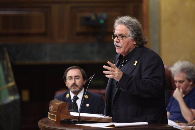 Joan Tarda interviene en el Congreso