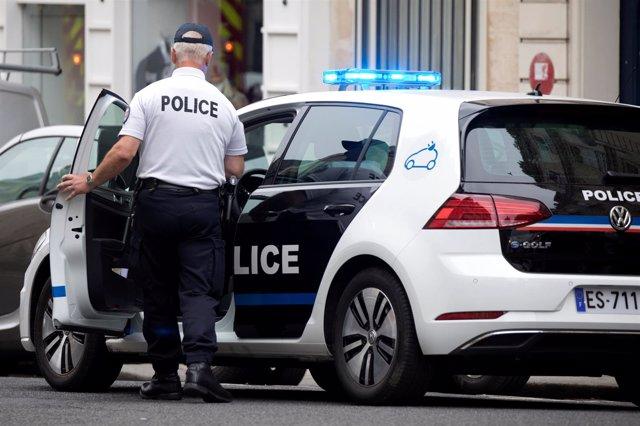 Agente de la Policía de Francia (archivo)