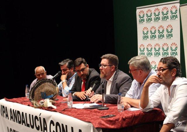 Reunión de Rodrigo Sánchez Haro con UPA-A.