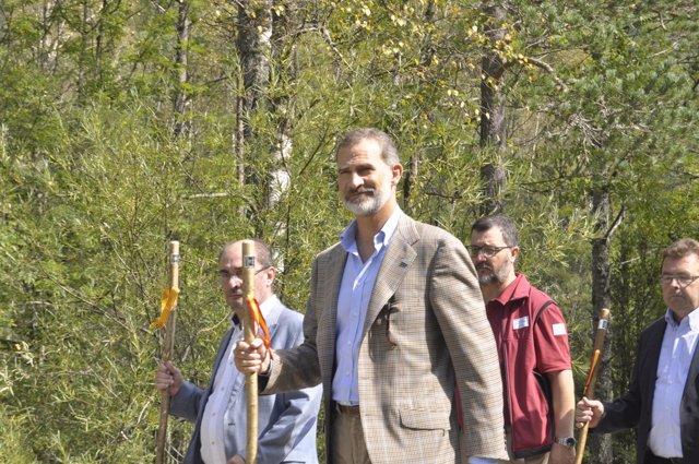 El Rey visita el Parque Nacional de Ordesa y Monte Perdido en Huesca