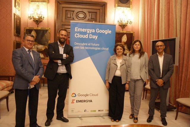 Presentación del Emergya Google Cloud Day en Sevilla.