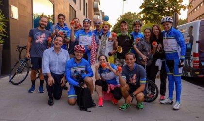 Los empleados de Bristol-Myers Squibb inician por tercer año su carrera ciclista contra el cáncer