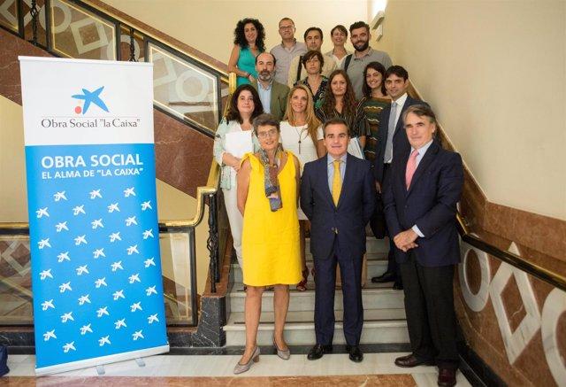 La Obra Social 'la Caixa' destina más de 142.000 euros a proyectos en Sevilla