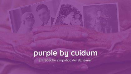 Un español de 27 años crea 'Purple', el único 'traductor' del mundo para los pacientes con Alzheimer