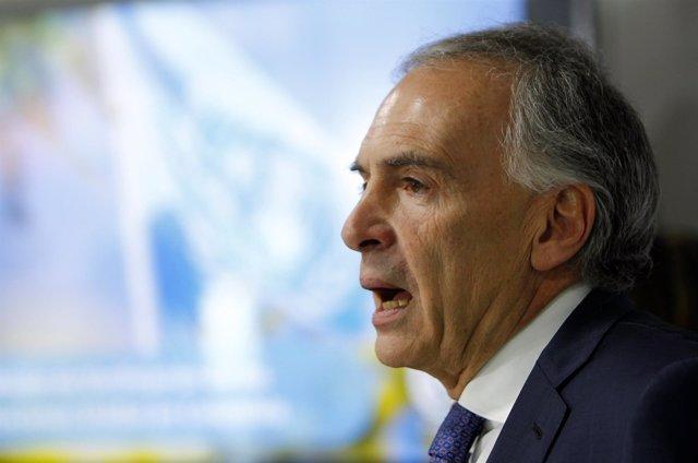 Jefe de la Misión de la ONU en Colombia, Jean Arnault