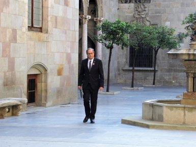 Torra torna a demanar la dimissió de Lesmes i arxivar les causes de el 1-O després de nous missatges de jutges (Europa Press)