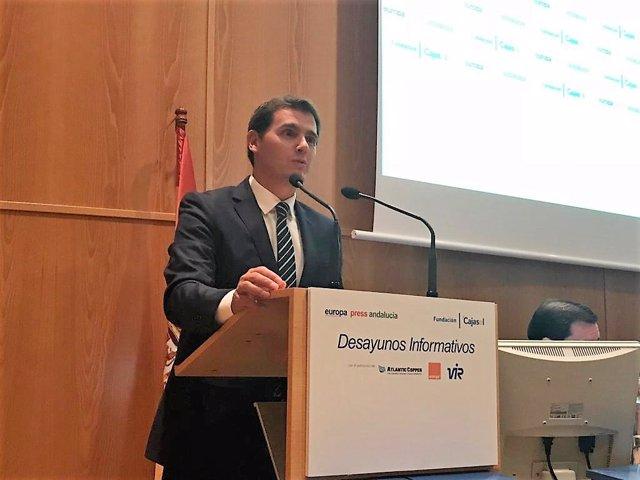 Albert Ribera, en los Desayunos de Europa Press Andalucía