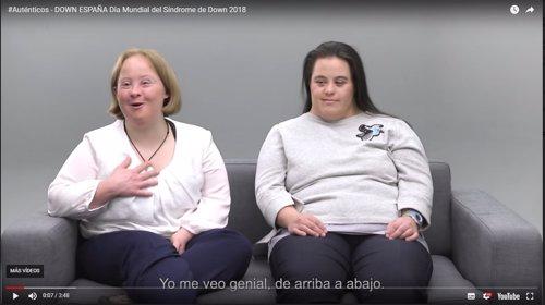 Campaña 'auténticos' de Down España