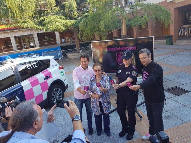 La Policía de Las Rozas vestirá de rosa por el cáncer de mama
