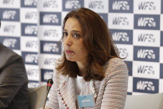 Marian Otamendi En La Presentación De World Football Summit 2018