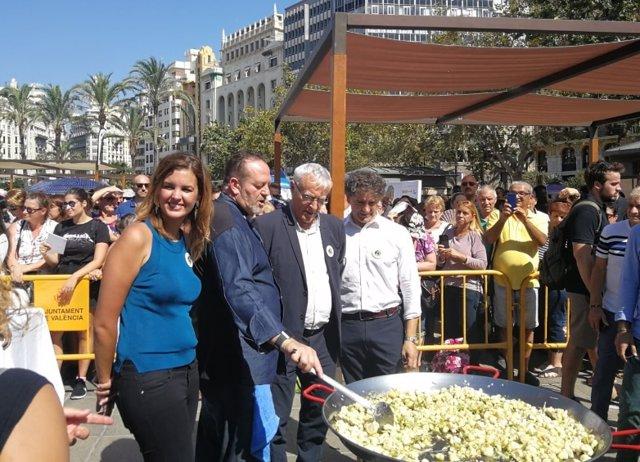 Celebración del Día Mundial de la Paella