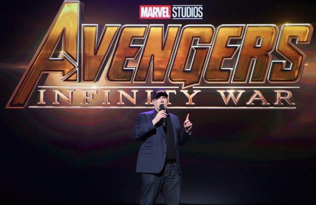 Kevin Feige, el presidente de Marvel Studios,