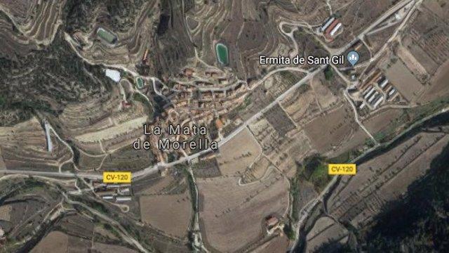 Pequeño municipio de La Mata de Morella