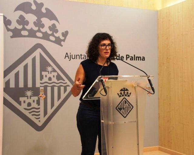 Eva Frade, regidora de Participación Ciudadana