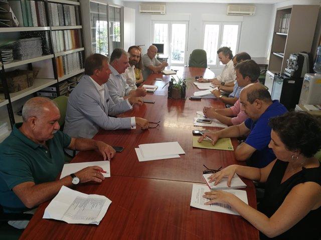 Reunión con las Oficinas Comarcales Agrarias.