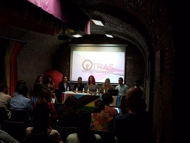 El Sindicato de Trabajadoras Sexuales (OTRAS) se presenta oficialmente