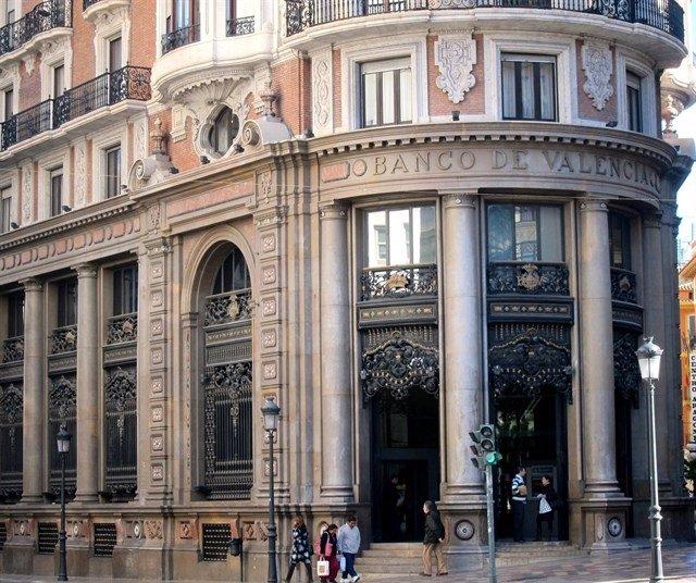 Imatge d'arxiu de l'edifici de Banc de València