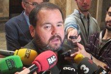 Joan Mena serà el portaveu dels comuns i Susana Segovia, secretària d'organització (EUROPA PRESS - Archivo)