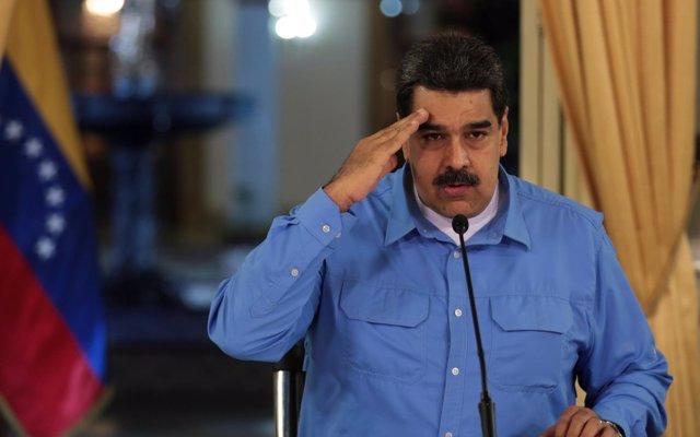 Maduro recibe en Caracas al ministro de Exteriores de Turquía