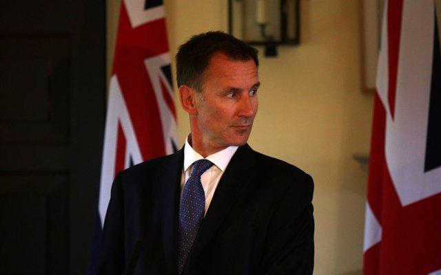 El ministro de Exteriores de Reino Unido, Jeremy Hunt