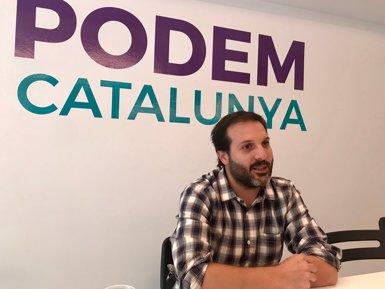 """Jaume Durall vol liderar Podem amb """"estabilitat i continuïtat"""" respecte a Domènech (EUROPA PRESS)"""