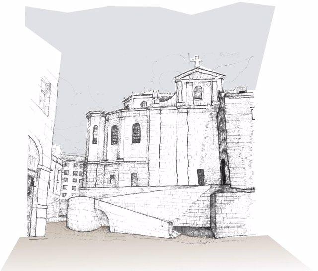 Infografía de las calles Somorrostro y Los Azogues