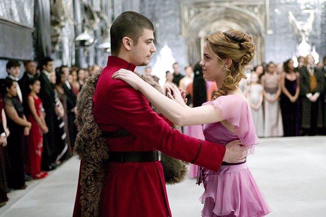 Hermione en Harry Potter y el cáliz de fuego