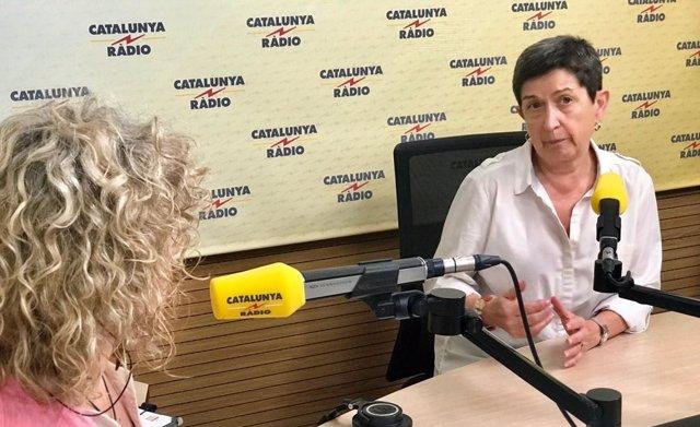 Teresa Cunillera en Catalunya Ràdio